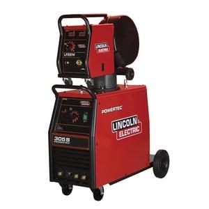 Poste à souder Lincoln Electric pour soudure MIG-MAG Powertec 305s avec dévidoirs
