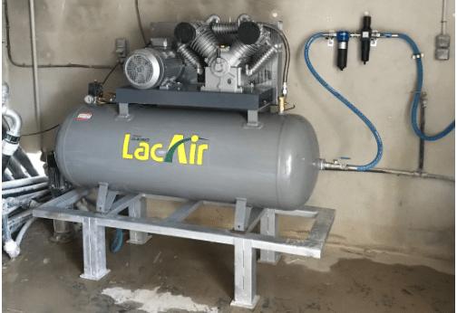 Installation de compresseur d'air