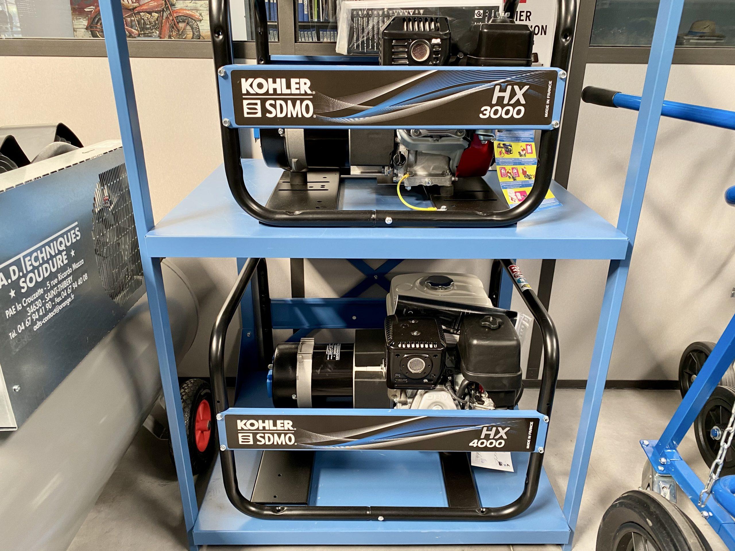 Equipement de chantier SDMO-groupe électrogène