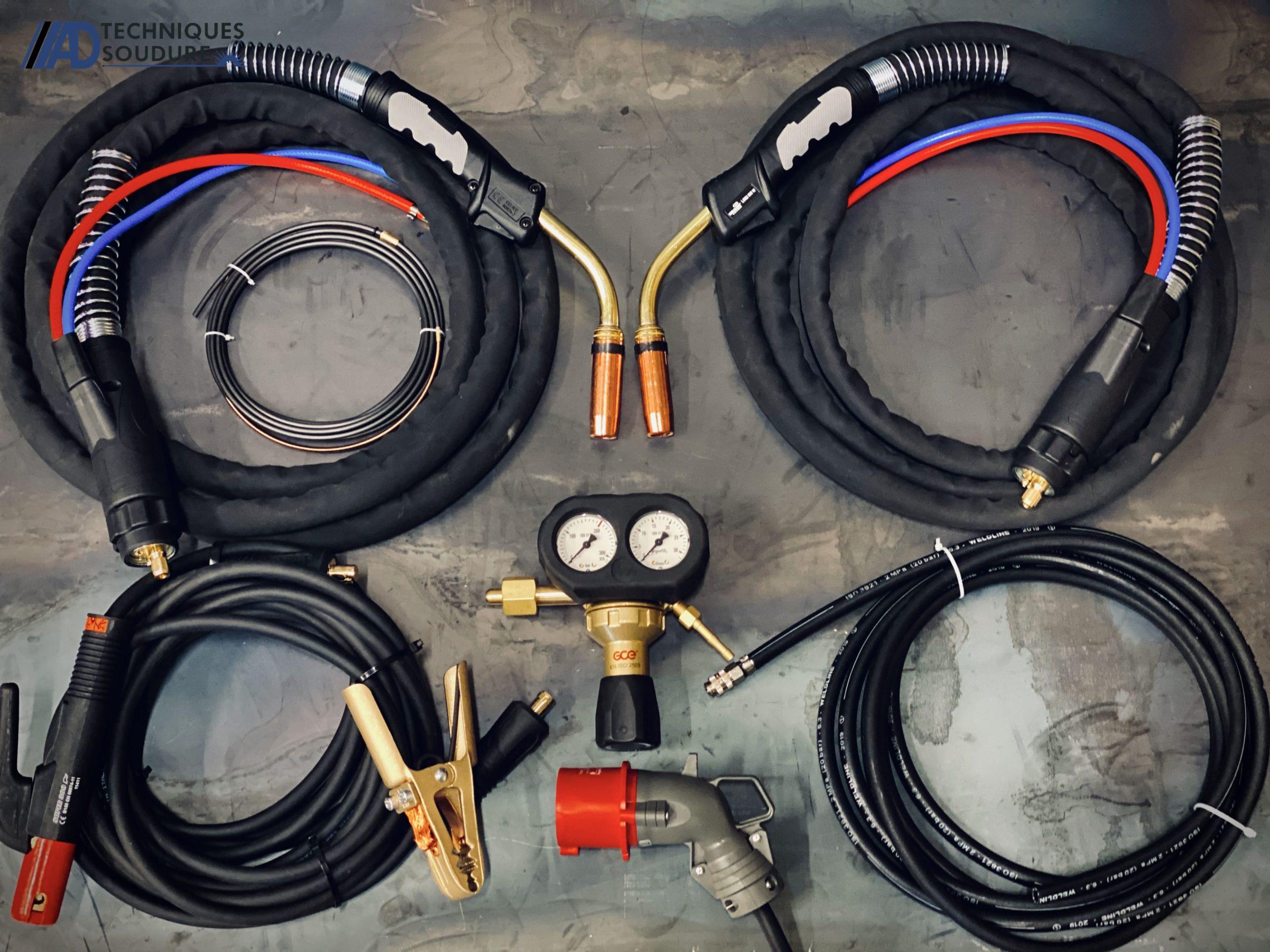 Accessoires poste à souder MIG/MAG SPEEDTEC 320CP Lincoln Electric triphasé