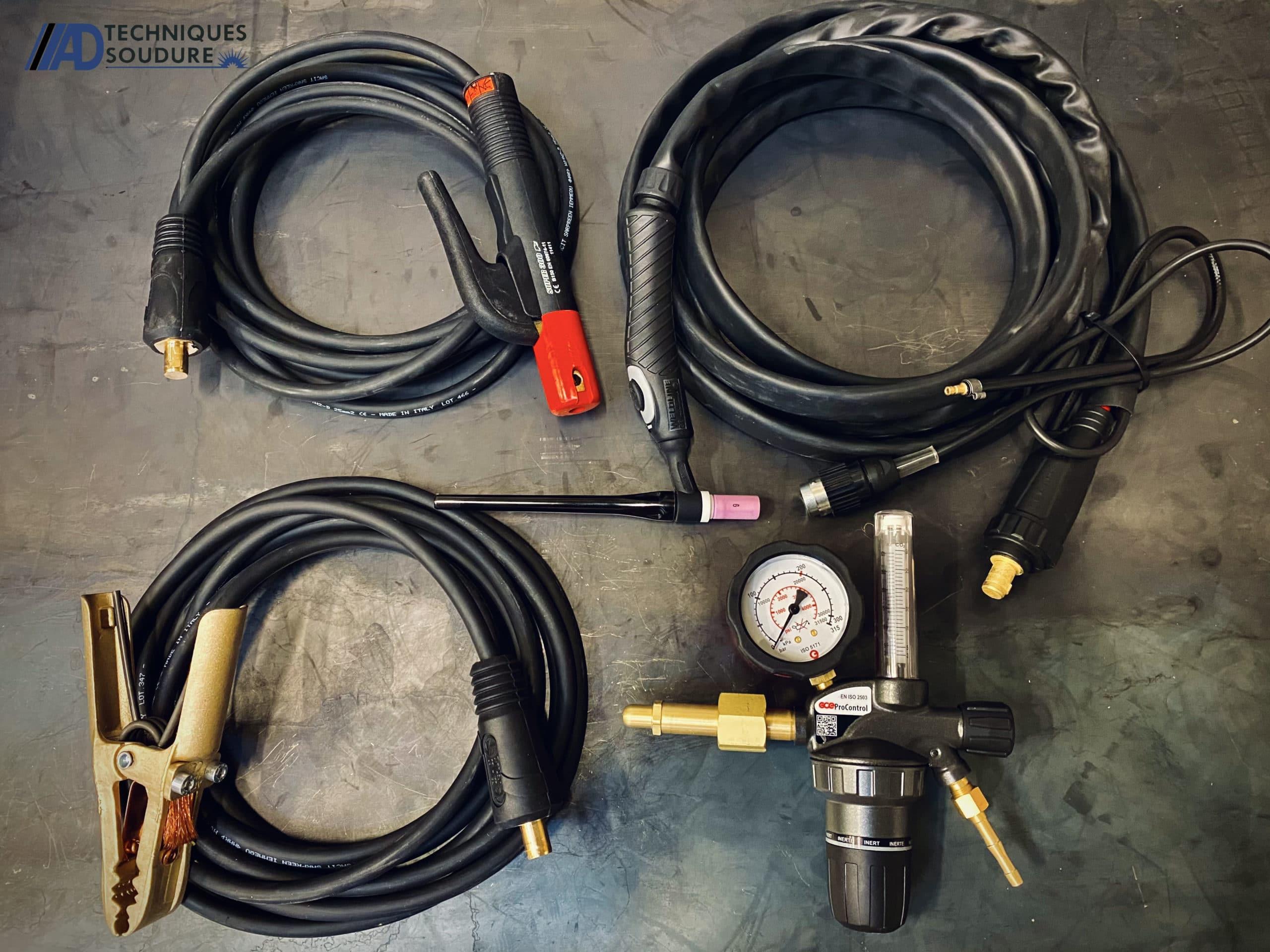 Accessoires poste à souder TIG Invertec 220TPX Lincoln Electric monophasé