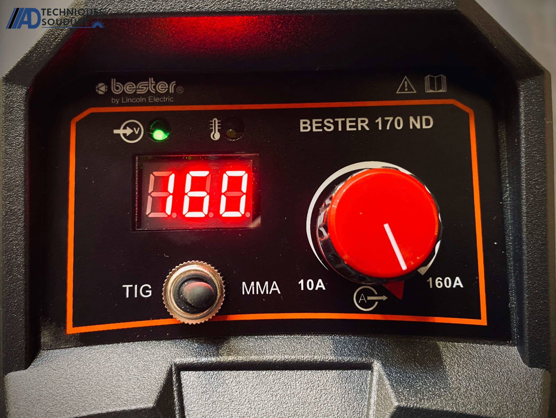 Poste à souder BESTER by Lincoln Electric Electrode enrobée 170D-ND monophasé