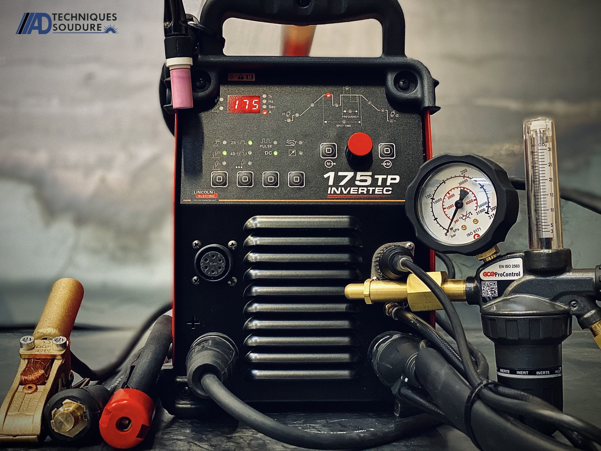 Poste à souder tig invertec 175TP Lincoln Electric monophasé