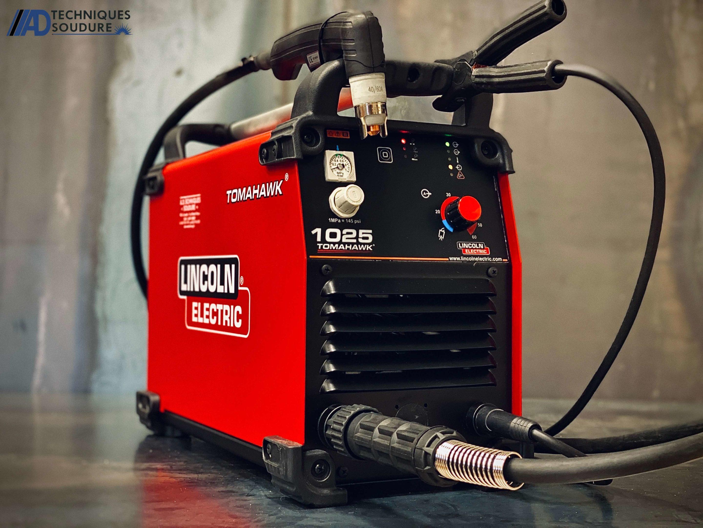 Poste à découpe plasma Tomahawk 1025 Lincoln Electric triphasé
