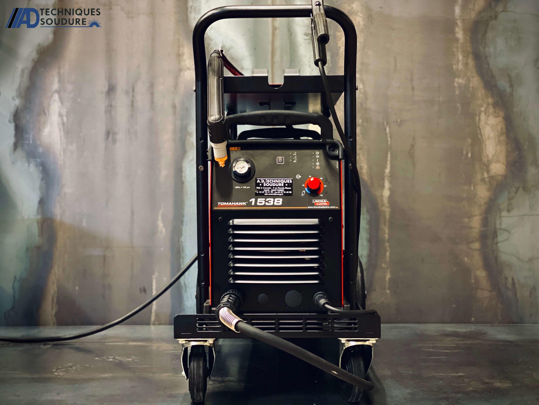 Poste à découpe plasma Tomahawk 1538 Lincoln Electric triphasé