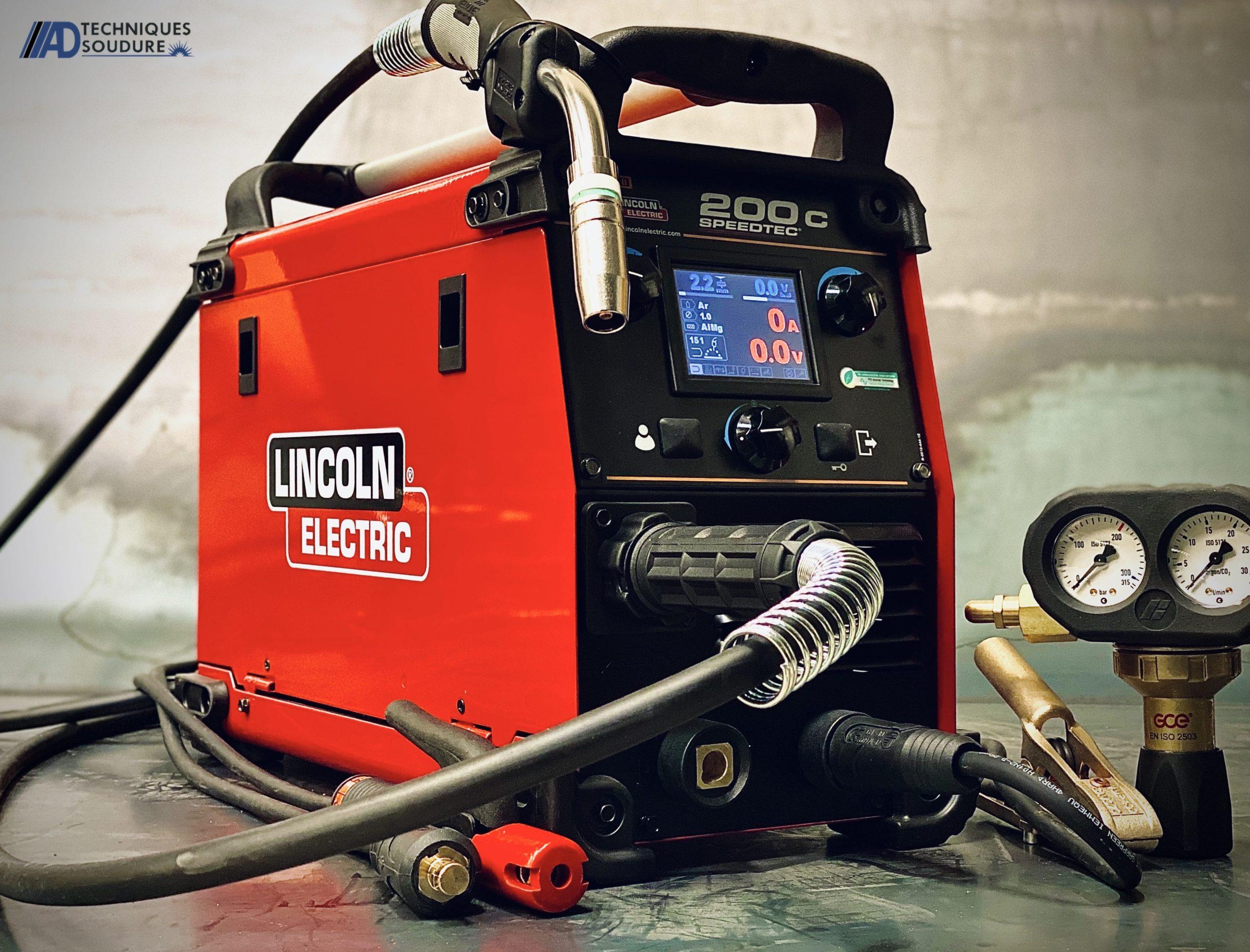 Poste à souder Speedtec MIG/MAG 200C Lincoln Electric monophasé