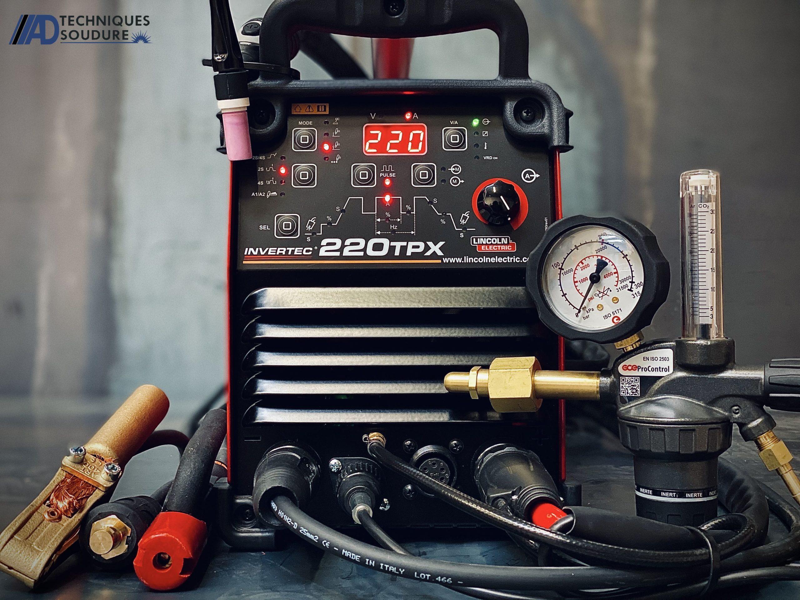 Poste à souder TIG INVERTEC 220TPX Lincoln Electric monophasé