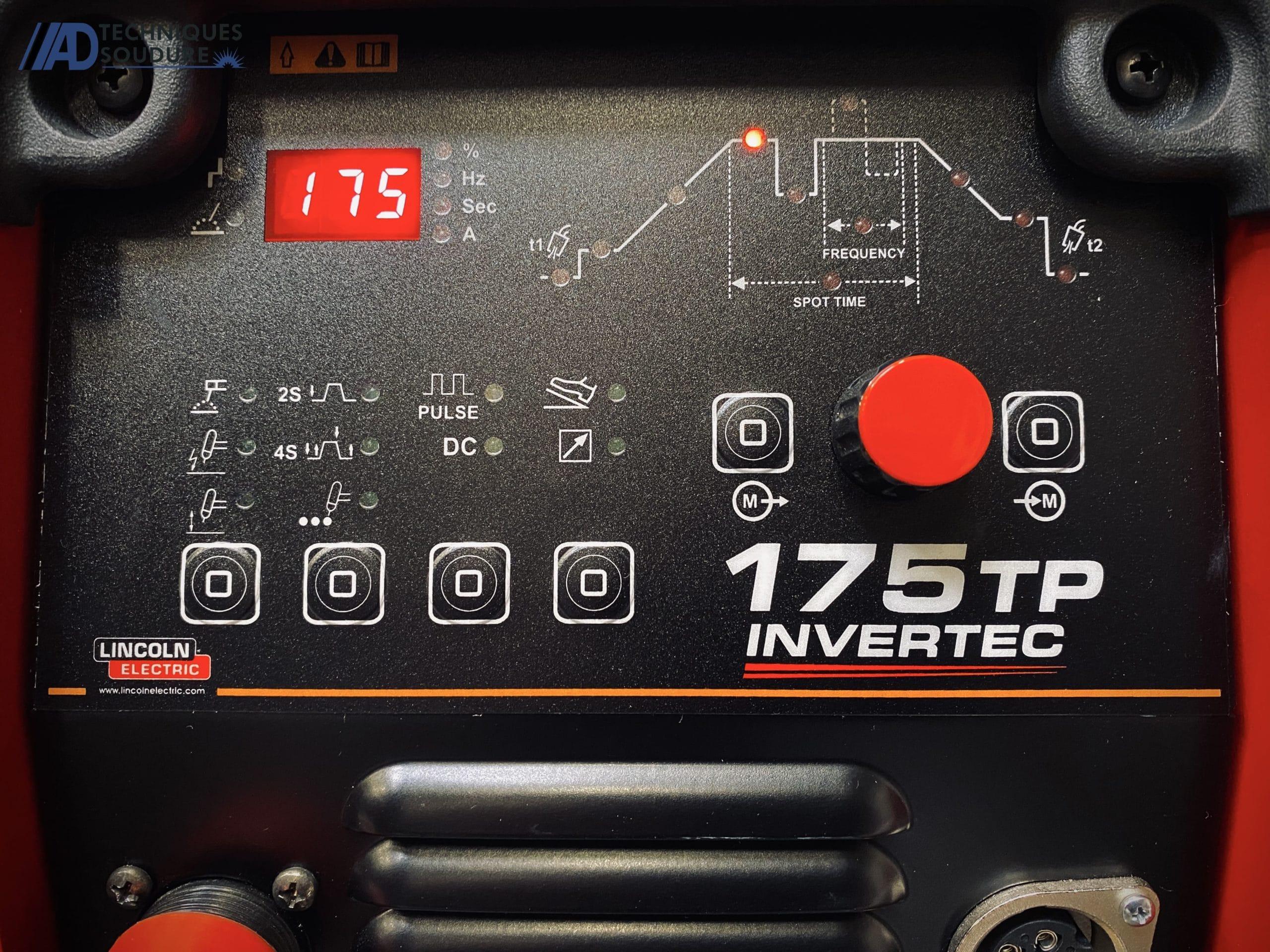 Poste à souder TIG inverte 175TP Lincoln Electric monophasé