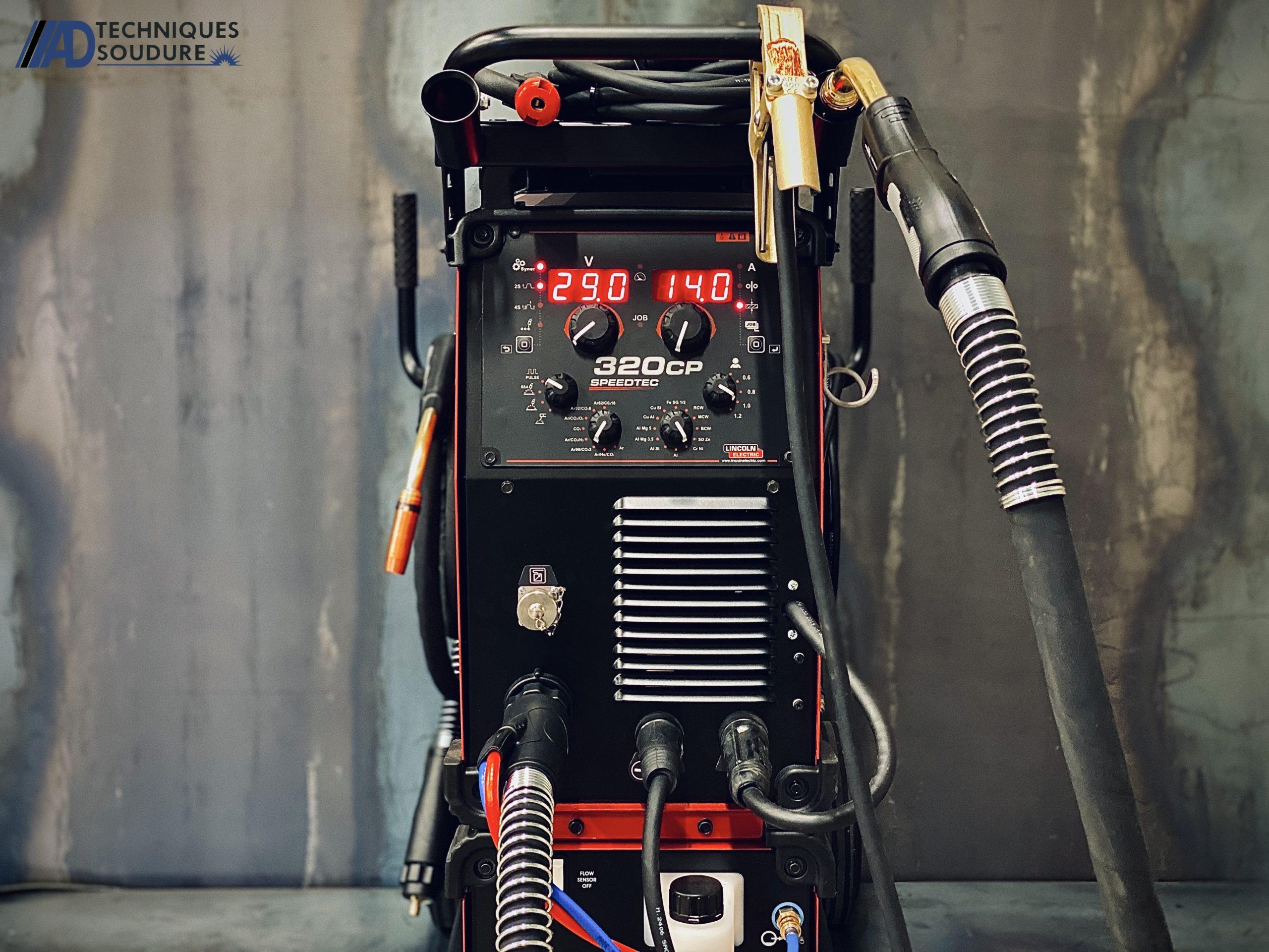 Poste à souder MIG/MAG SPEEDTEC 320CP Lincoln Electric triphasé