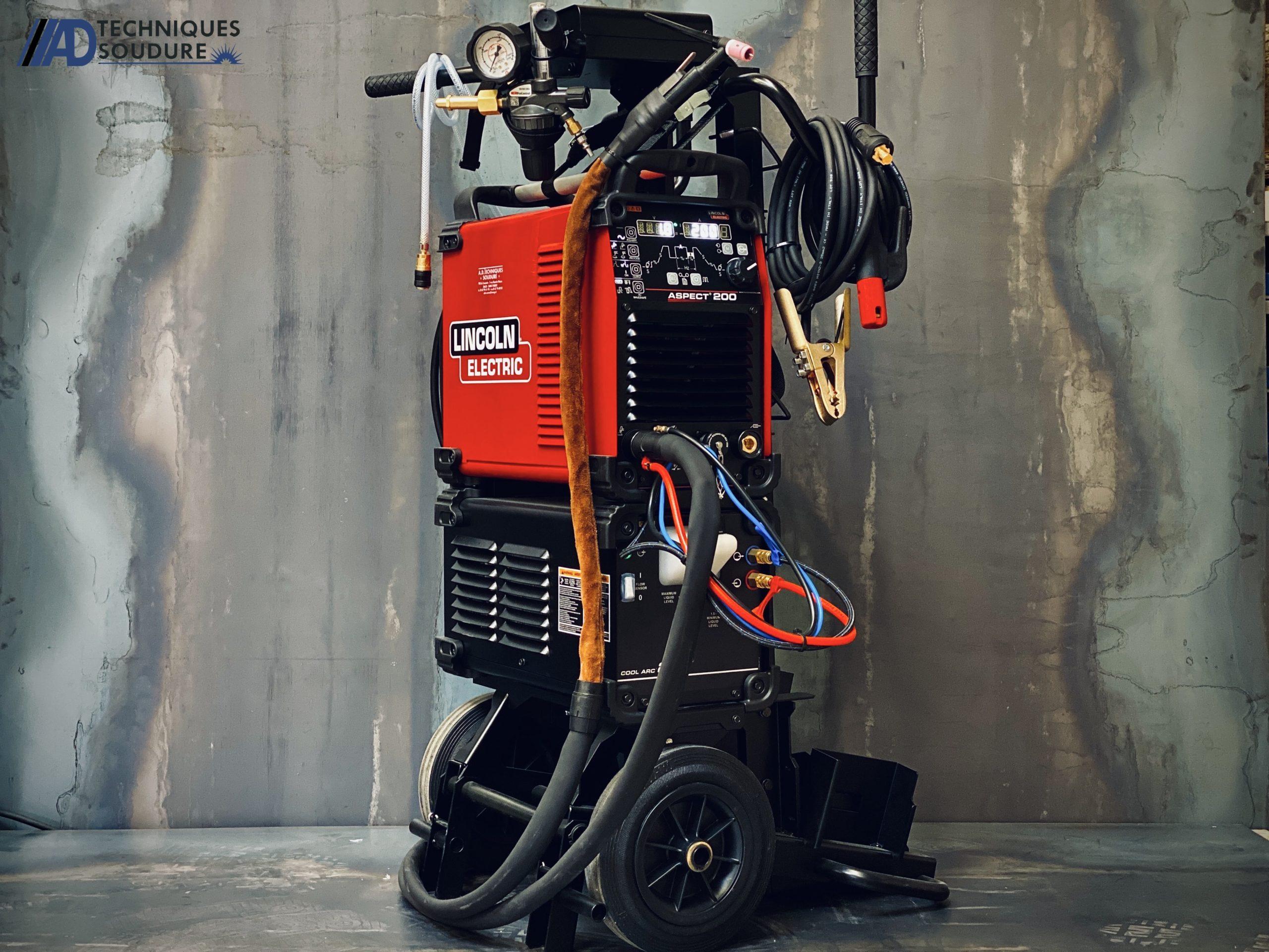 Poste à souder TIG Aspect 200 Lincoln Electric monophasé