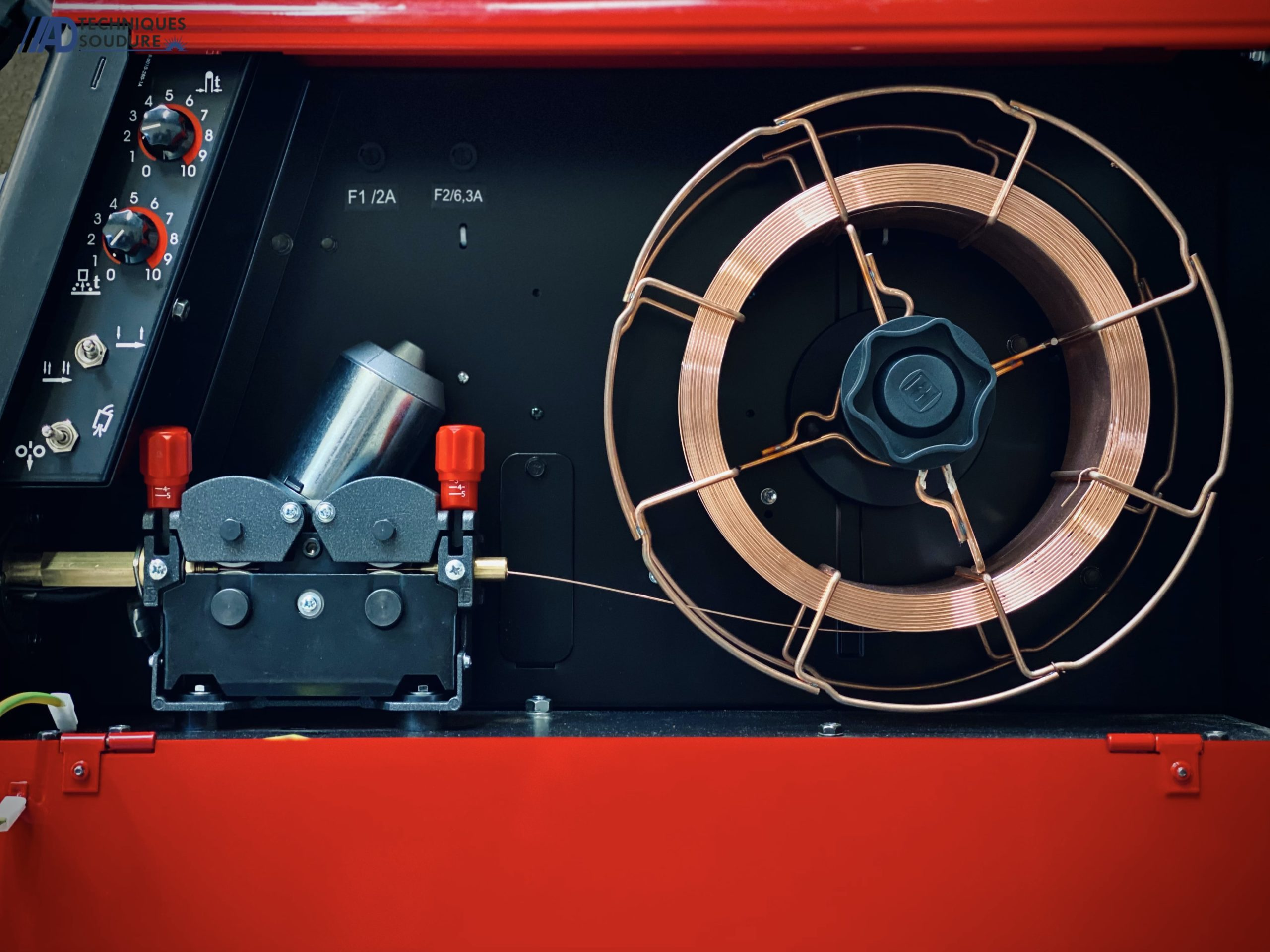 Poste à souder MIG/MAG Powertec 305C Lincoln Electric triphasé