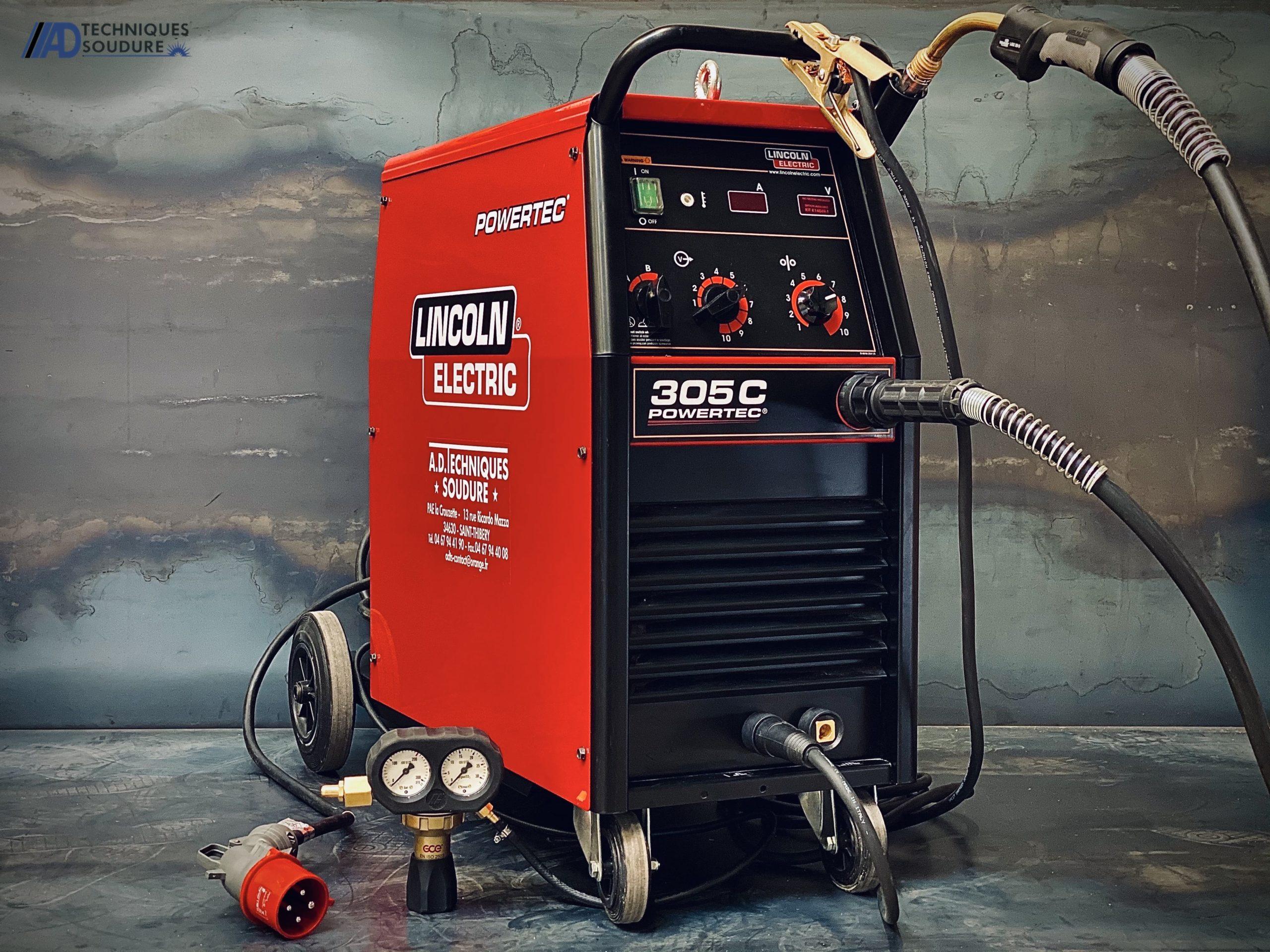 Poste à souder MIG Powertec 305C Lincoln Electric