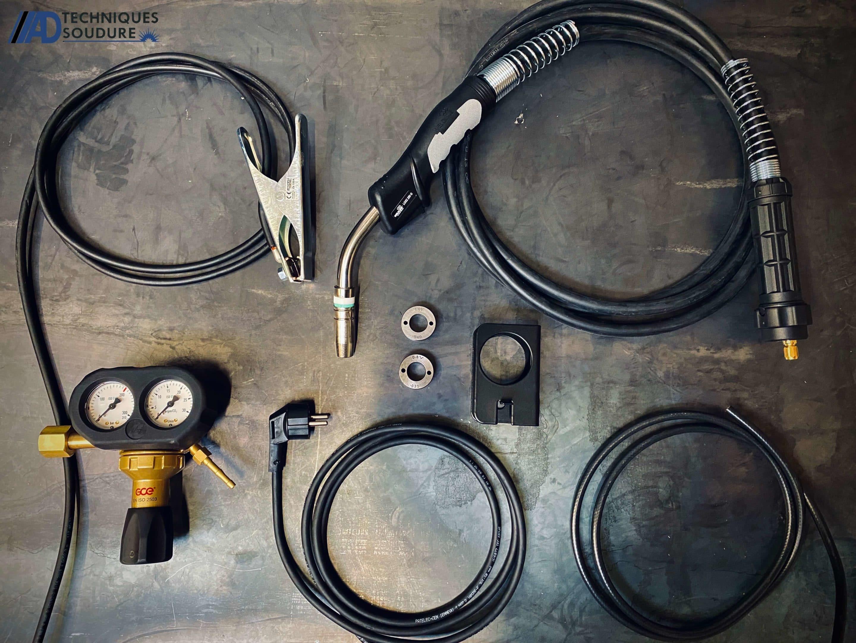 Accessoires poste à souder MIG-MAG powertec 161C Lincoln Electric monophasé