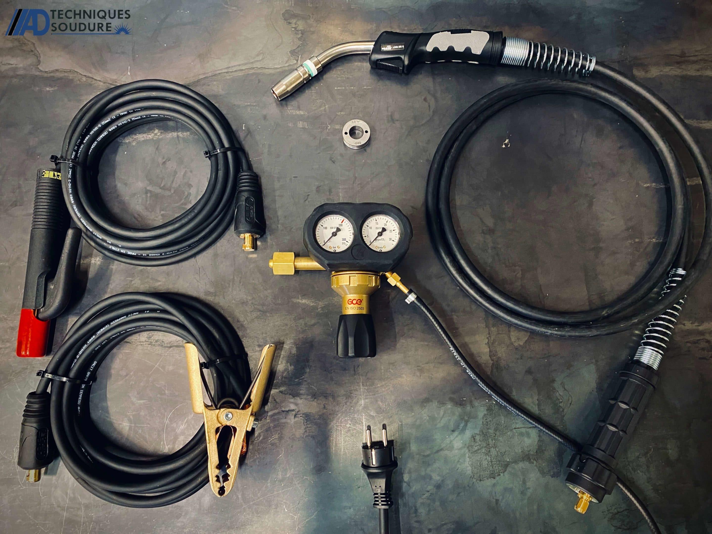 Accessoires poste à souder MIG-MAG multi-procédés SPEEDTEC 215C Lincoln Electric monophasé