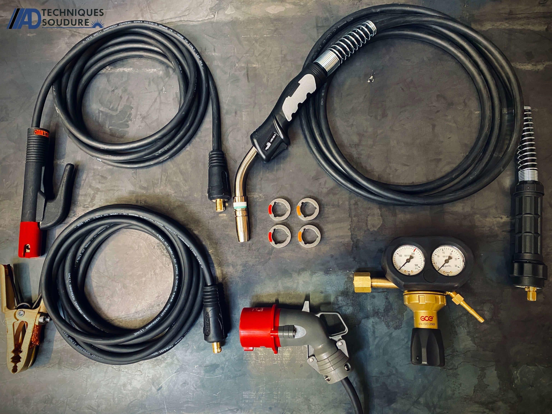 Accessoires poste à souder multi procédé powertec i250 advanced lincoln electric triphasé