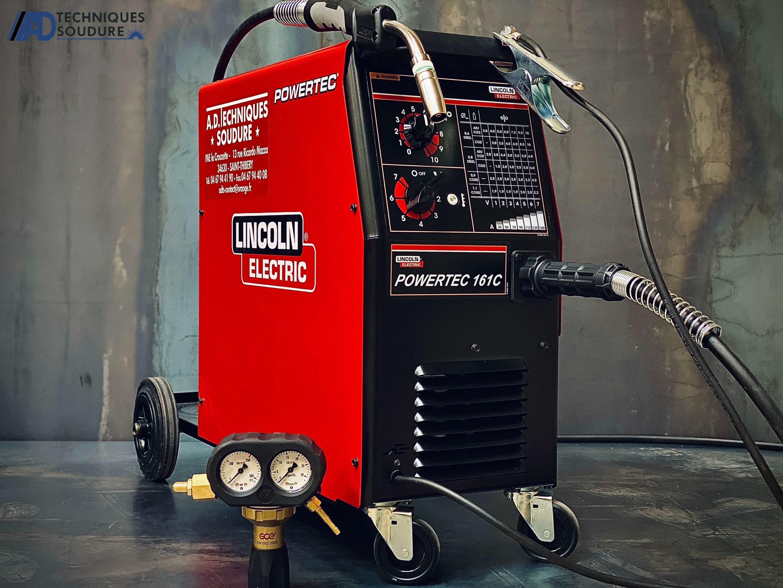 Poste à souder MIG-MAG powertec 161C Lincoln Electric monophasé