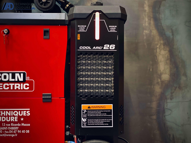 Poste à souder MIG/MAG synergie Powertec i500s et dévidoir séparé LF52D lincoln Electric triphasé