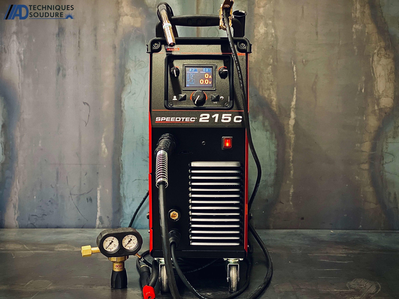 Poste à souder MIG-MAG multi procédés SPEEDTEC 215C Lincoln Electric monophasé