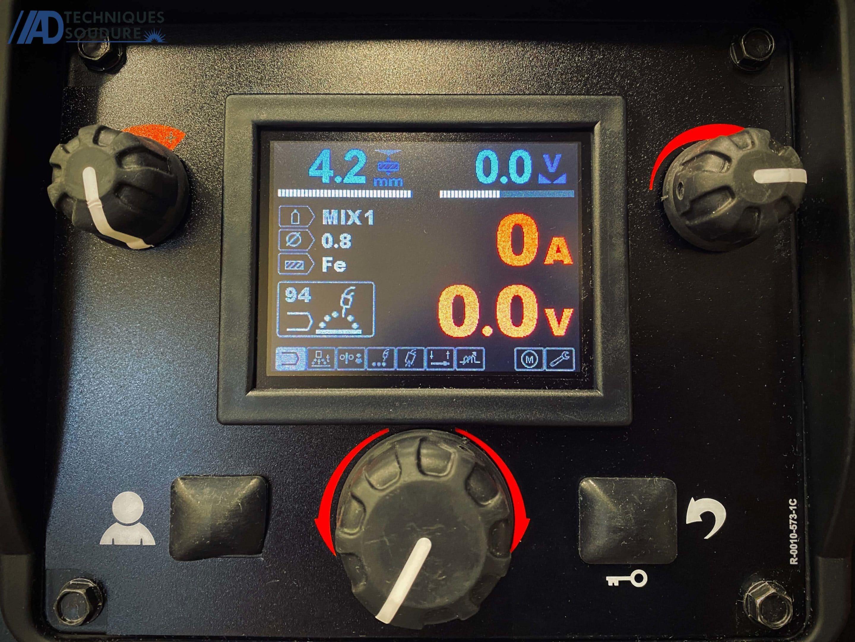 Panneau de commande SPEEDTEC 215C Lincoln Electric