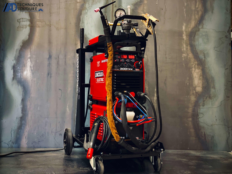 Poste à souder TIG INVERTEC 300 TPX Lincoln Electric triphasé