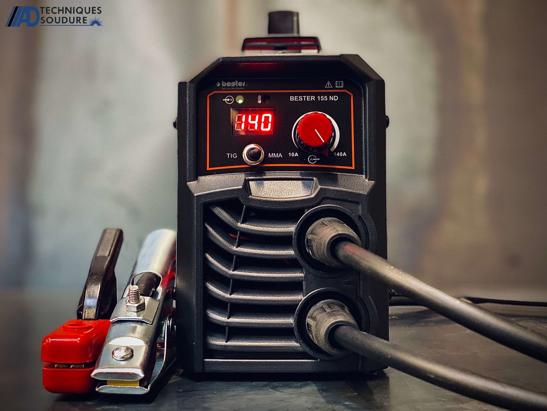 Poste a souder électrode enrobée Lincoln BESTER 155-ND monophasé