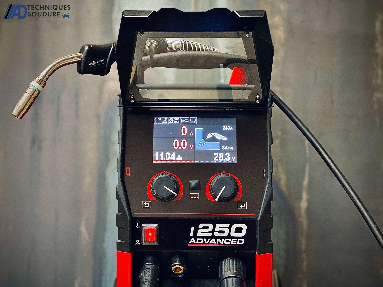Poste à souder multi procédé powertec i250 advanced lincoln electric triphasé