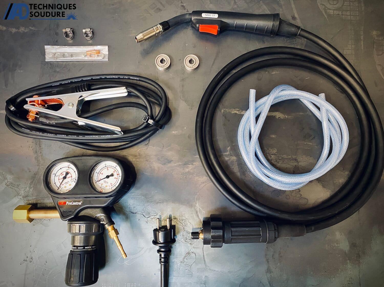 Accessoires poste à souder MIG/MAG multi procédés BESTER 190C Lincoln Electric monophasé