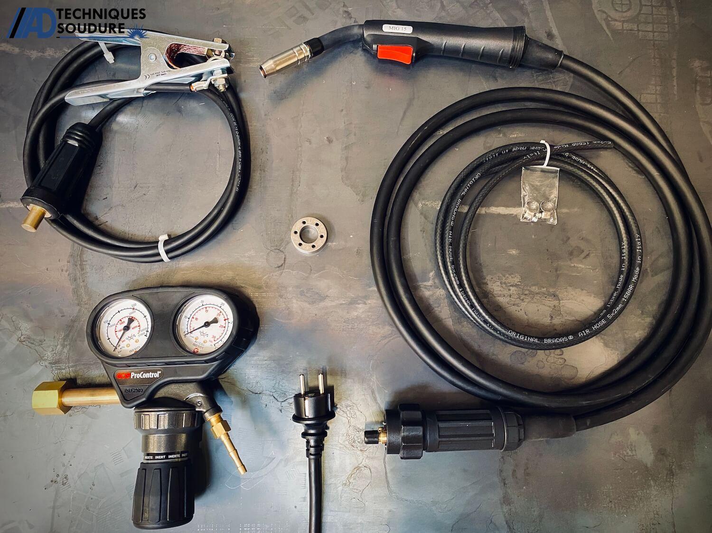 Accessoires poste à souder MIG/MAG multi procédés BESTER 215MP Lincoln Electric monophasé
