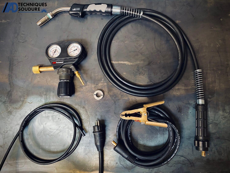 Accessoires poste à souder MIG/MAG powertec 231C Lincoln Electric monophasé