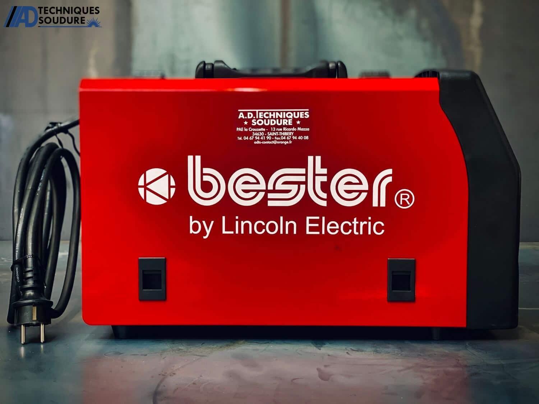 Poste à souder MIG/MAG multi procédés BESTER 190C Lincoln Electric monophasé