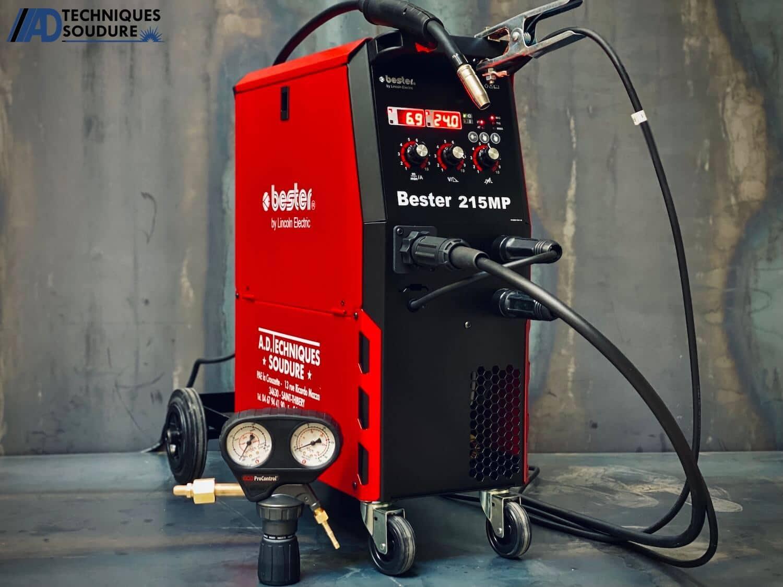 Poste à souder MIG/MAG multi procédés BESTER 215MP Lincoln Electric monophasé