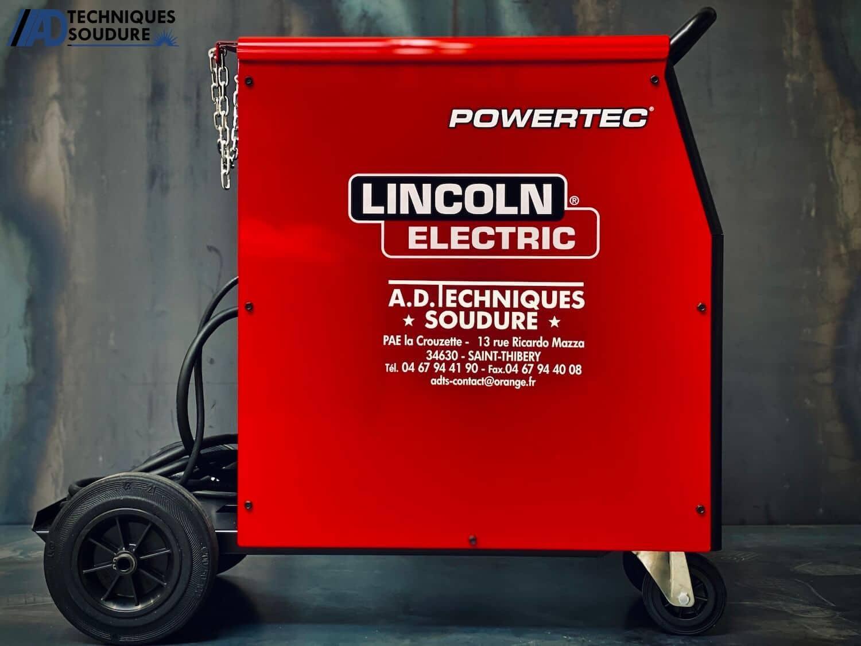 Poste à souder MIG/MAG powertec 231C Lincoln Electric monophasé