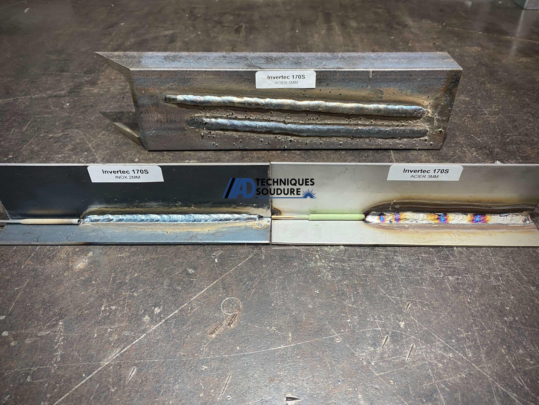 Soudure électrode enrobée INVERTEC 170S Lincoln Electric - AD Techniques Soudure