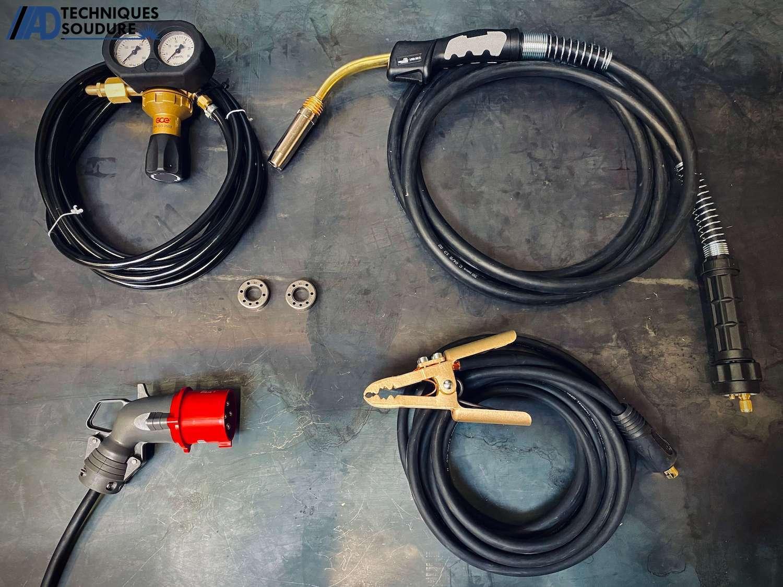 Accessoires poste à souder MIG-MAG SPEEDTEC 320CP Multi-procédés, pulsé, synergique Lincoln Electric triphasé