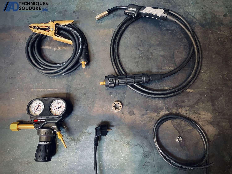 Accessoires poste à souder MIG-MAG WELDPAK 2000 Lincoln Electric monophasé