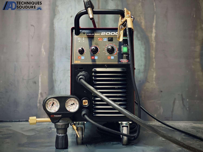 Poste à souder MIG-MAG WELDPAK 2000 Lincoln Electric monophasé