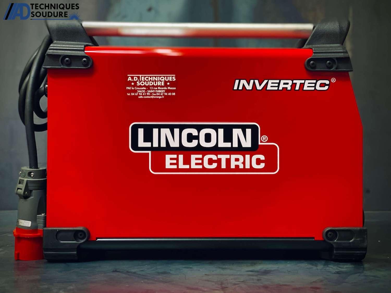 Poste à souder electrode enrobée INVERTEC 270SX Lincoln Electric triphasé